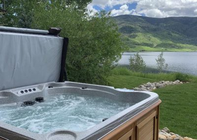 hot tub accessories by precision pools and spas retractable cover